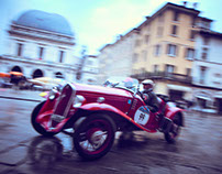 Mille Miglia 2016 with Team OM