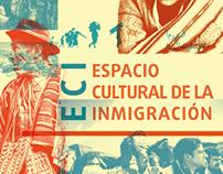 Identidad visual: Espacio cultural de la inmigración