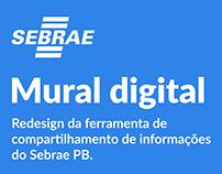Sebrae PB - Mural Digital