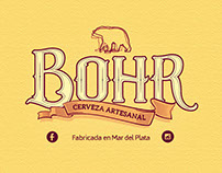 Identidad corporativa -  Cervecería Bohr