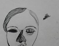 Графика/тушь - 1  Lrawing/ink - 1