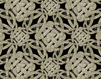 Ancient Ornamental Stone Background Pattern