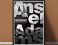 Ansel Adams poster