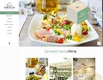 Projekt strony - restauracja-omega.pl
