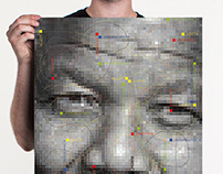 "Poster ""Mandela Poster Project"" / Social graphics 2013"