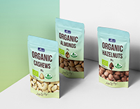 ALVO ORGANIC. Packaging, Ad Campaign & Product Catalog