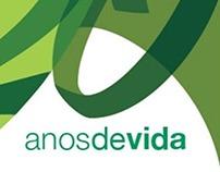 Logotipo de 20 anos para a Unimed