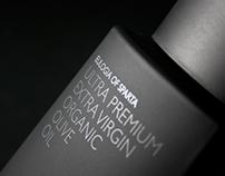 PREMIUM OLIVE OIL packaging design