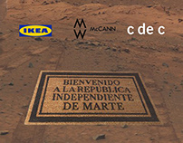 REPÚBLICA INDEPENDIENTE EN MARTE/ con el CdeC y Mccann