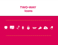 TWO-WAY Icons
