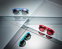 Sun glasses for Luis Mercader