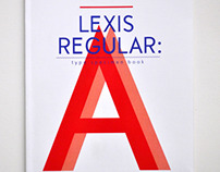 Lexis Regular - Type Specimen
