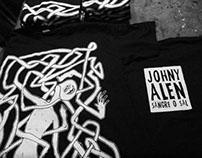 Diseño polera Johny Alen Rap