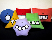 Simmplis: collection of geometrical cushions
