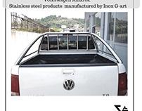 Volkswagen Amarok / Stainless steel accessories