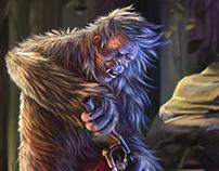 Bigfoot, the pro biker...