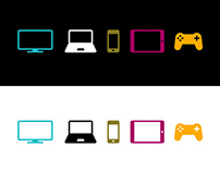 ITV Player Platform Icons