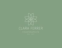Clara Ferrer - Brand Identity