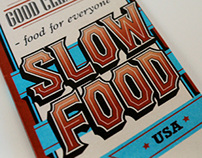 Slow Food Brochure