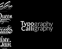 Calligraphy , Typography
