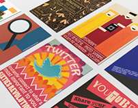 Online Companies - Posters based on the History of Art