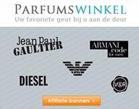 Affiliate banners Parfumswinkel.nl