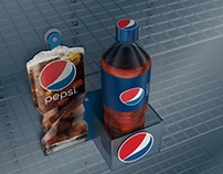 Pepsi Chiller Display
