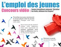 L'emploi des jeunes, Concours vidéo - POSTER