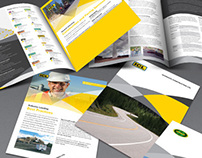 Terus Construction - Brochure Design