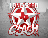 Lone Star Clash Event Logo and Tee