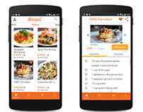 AllRecipes Mobile App Redesign (Concept)