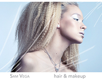 Sam Vega Hair & Makeup Comp Cards