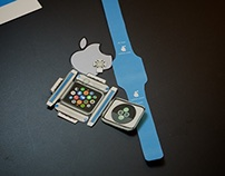 Apple Watch Papercraft with actual sizes