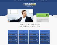 NovinPort Wordpress Theme
