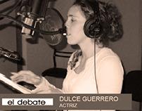 Entrevista a Dulce en El Debate