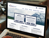 Insurance Website Redesign // Home Page