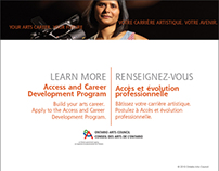 Access and Career Development Web Pages