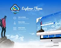 Travel & Tours Website UI/UX