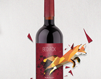 Red Fox Cabernet Packaging and branding