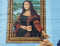 Mona Lisa and Napoleon at Amelie's French Bakery