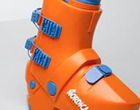 Nordica Ski Boot Model