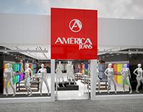 Projeto Ambientação Interna Loja - América Jeans