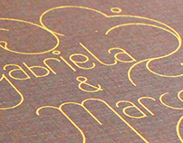 Convite Casamento M&G