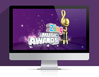 Website Zing Music Awards 2012