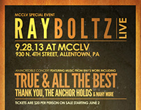 Ray Boltz Concert Poster