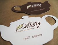 Branding for Steep Cafe