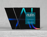 AURA - Aromatherapy Hair Care Rigid Packaging