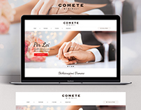 COMETE GIOIELLI Website | UI-UX | Clean Layout