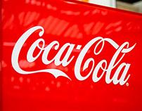 Coca-Cola tweet machine