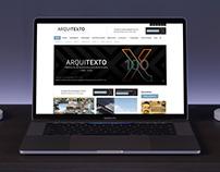 Arquitexto - Diseño de website